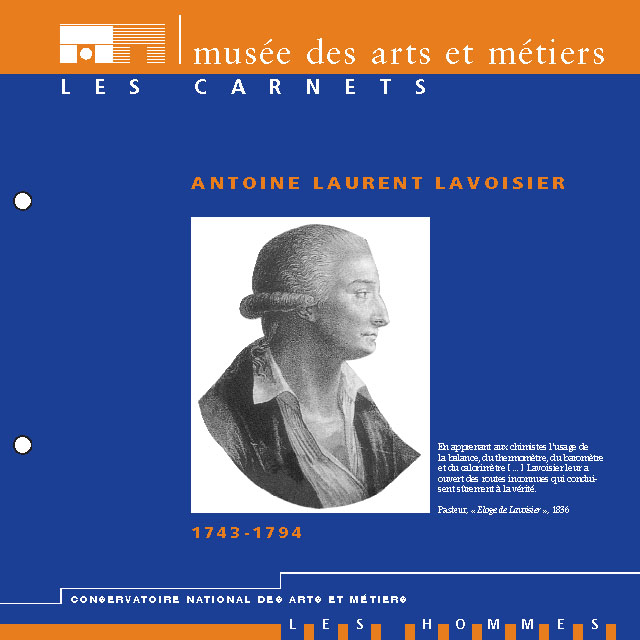 an introduction to the life and work of antoine laurent lavoisier Antoine lavoisier (1743-1794), french chemist biography, quotes and photos of french nobleman and chemist antoine lavoisier.